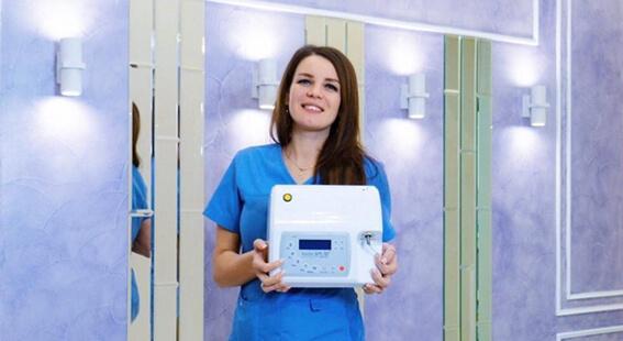 Лазерное отбеливание доктор смайл в Краснодаре