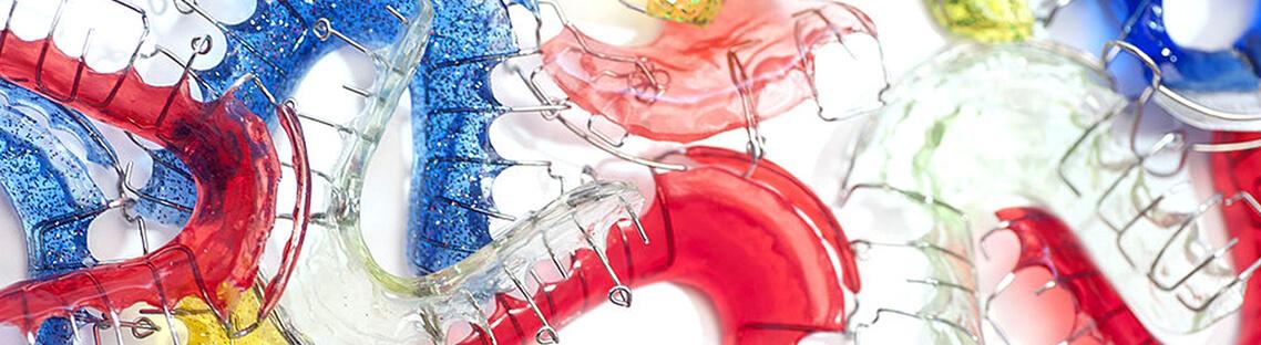 Фото детских пластинок для зубов